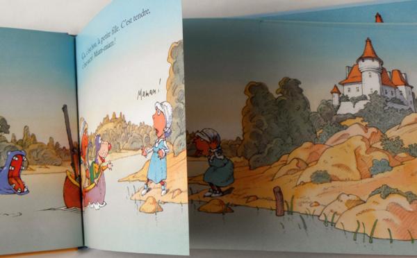 L'Ogre, le Loup, la Petite Fille et le Gâteau