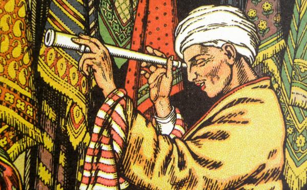 Le tapis volant, le tuyau d'ivoire et la pomme magique