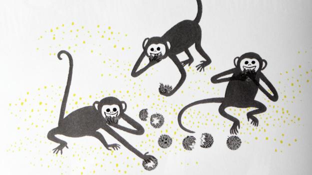 Courez, courez, petits singes!